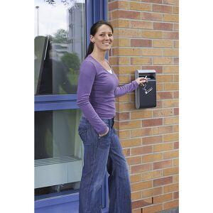 Design wandasbak voor binnen en buiten, met binnenemmer, diepte 65 mm