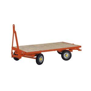 Aanhangwagen, dubbele draaischamelbesturing met 4 wielen, laadvermogen 3 t