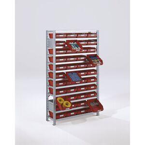 STEMO Inhaakstelling met stellingbakken, stellinghoogte 1790 mm STEMO