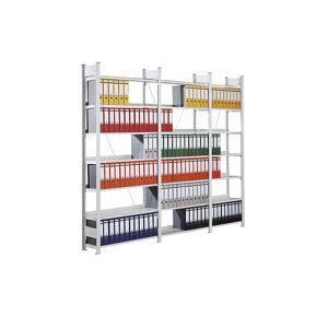 hofe Dossier-inhaakstelling, verzinkt, stellinghoogte 2350 mm, enkelzijdig hofe