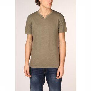 JACK & JONES T-Shirt Jjesplit voor heren - Groen - Maten: S, M, L, XL - Nieuwe collectie
