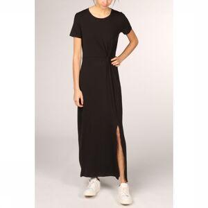 Vero Moda Jurk Vmava Lulu Ss Ancle Noos voor dames - Zwart - Maten: XS, S, M, L - Nieuwe collectie