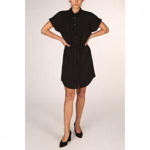 Vero Moda Jurk Vmsasha Shirt Ss Ga Noos voor dames - Zwart - Maat: M - Nieuwe collectie