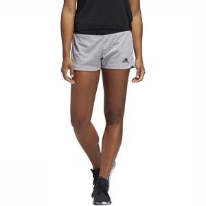 adidas Short 2 In 1 Soft Touch voor dames - Grijs/Zwart - Maat: M