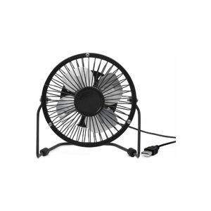 Kikkerland Usb Desk Fan - Zwart