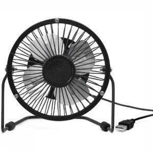 Kikkerland Gadget Usb Desk Fan - Zwart