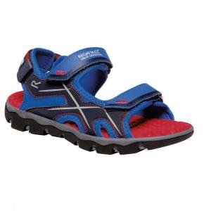Regatta Sandaal Kota Drift voor kids - Blauw/Rood - Maat: 33
