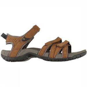 Teva Sandaal Tirra Leather voor dames - Bruin - Maat: 6