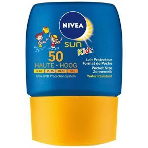 NIVEA Zonnebescherming 50ML Kids Pocket Size - Transparant/Transparant
