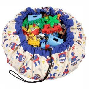 PLAY & GO Speelgoed The Ultimate Storage Bag voor kids - Blauw
