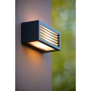 Lucide wandlamp buiten DIMO IP54 - antraciet - 25x10,3x11 cm - Leen Bakker