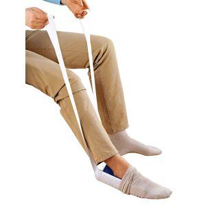 Wenko Aantrekhulp voor sokken en kousen Wenko blauw/wit