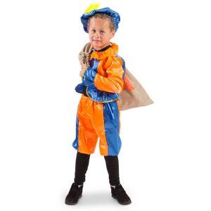 DeOnlineDrogist.nl Pietenpak Blauw/Oranje 6-8 jaar