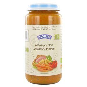 Biobim Junior Menu Macaroni Ham 12mnd