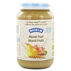 Biobim Fruithapje Muesli Fruit 8mnd