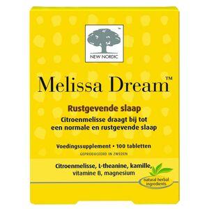 New Nordic Melissa Dream Tabletten 100st