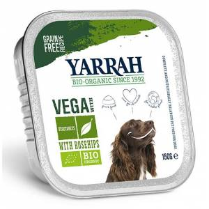 Yarrah Biologisch Hondenvoer Chunks Vega