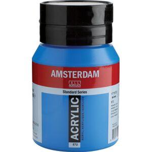 Amsterdam acrylverf, flesje van 500 ml, primair cyaan