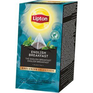 Lipton thee, English Breakfast, Exclusive Selection, doos van 25 zakjes