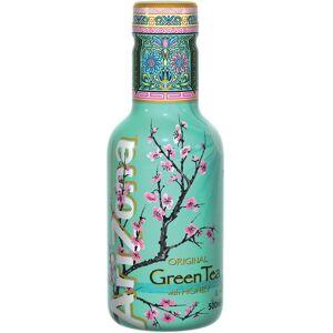 Arizona ijsthee Green Tea & Honey, flesjes van 0,5 L, pak van 6