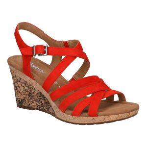 Gabor Rode Sandalen  - Rood - Size: 42