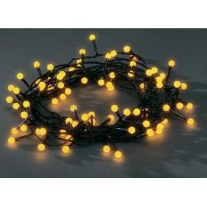 Konstsmide LED lichtsnoer Cherry - Geel