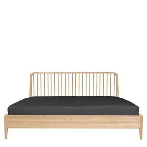 Ethnicraft Spindle Bed Eiken - b. 170 x l. 210 cm