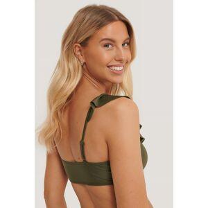 NA-KD Swimwear Bikinitop - Green