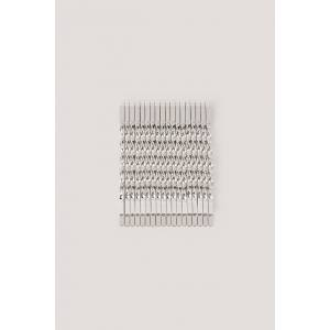 NA-KD Accessories Haarspelden - Silver