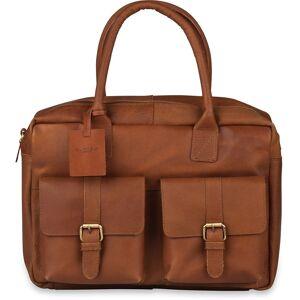 Laptoptas Burkely Finn Vintage Businessbag Classic Cognac 14 inch