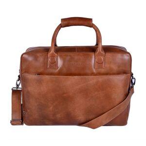 DSTRCT Fletcher Street Business Laptop Bag Cognac 15-17 inch