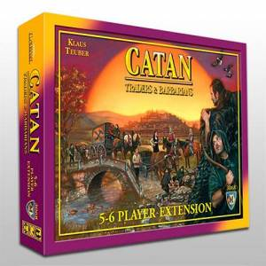 Catan Traders and Barbarians 5-6 player expansion