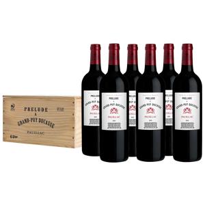 Prélude à Grand-Puy Ducasse Pauillac AOP wijnkist 6 flessen