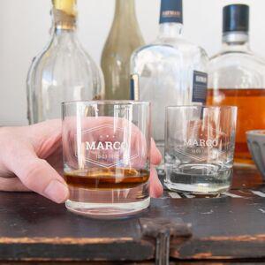 YourSurprise Whiskey glas graveren - 6 stuks