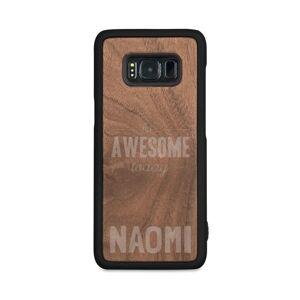 YourSurprise Houten telefoonhoesje graveren - Samsung Galaxy s8