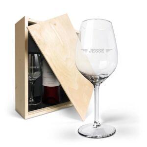 YourSurprise Wijnpakket met glas - Salentein Primus Malbec (Gegraveerde glazen)