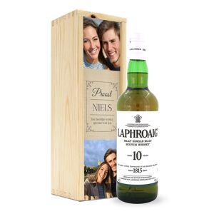 YourSurprise Whisky in bedrukte kist - Laphroaig 10 Years