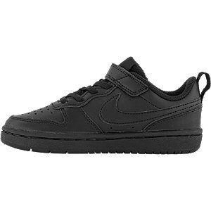 Nike Zwarte Court Borough Low 2