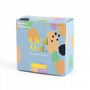 America Today Heren Gift Shower Steamer Chill Out Multicolour