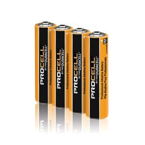 Duracell Procell Industrial AAA Batterij (4 stuks)