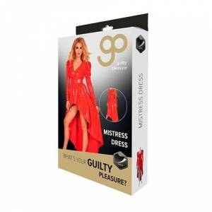 Guilty Pleasure Datex diva jurk rood