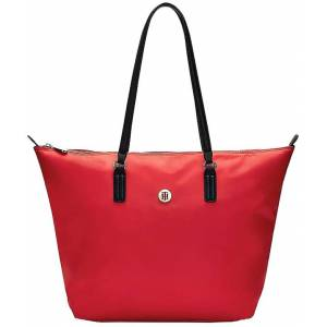 Tommy Hilfiger Shopper Poppe Tote Rood