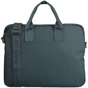 Myomy Laptoptas MY Philip BAG Laptop Blauw