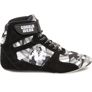 Gorilla Wear Perry High Tops Pro - Zwart/Grijs Camo - Maat 48