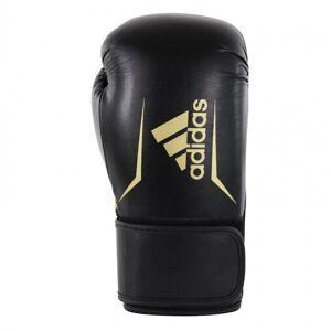 Adidas Speed 100 Bokshandschoenen Zwart/Goud - 14 oz