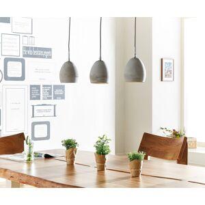 DELIFE Hanglamp Cirillo 70x15 grijs 3 tinten beton