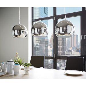 DELIFE Plafondlamp Pentola 75 cm chroom zilverkleurig metaal