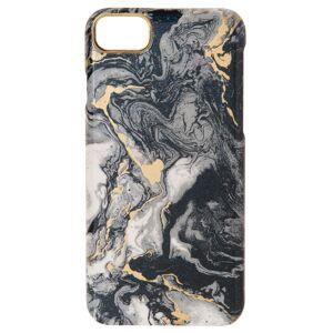 Maisons du Monde Plastic iPhone 6/7/8-hoesje met zwart gemarmerd effect