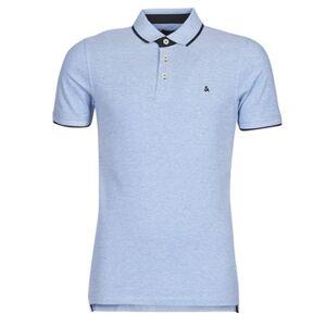 Jack   Jones Polo Shirts van het merk Jack Jones JJEPAULOS in Blauw. Materiaal: . Maten op voorraad: XXL. 5% korting met code: 5NC22