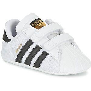 adidas sneakers van het merk adidas SUPERSTAR CRIB in Wit. Materiaal: Synthetisch. Maten op voorraad: 19. 5% korting met code: 5NC22